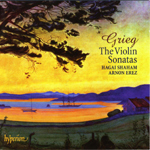 Grieg Sonatas CD Cover