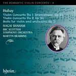 Hubay COncertos 1+2  CD Cover