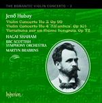 Hubay concertos 3+4  CD Cover