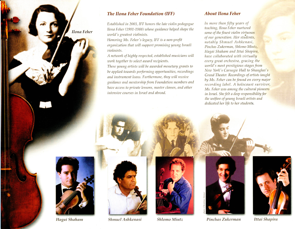 Ilona Feher Foundation Brochure, Page 2